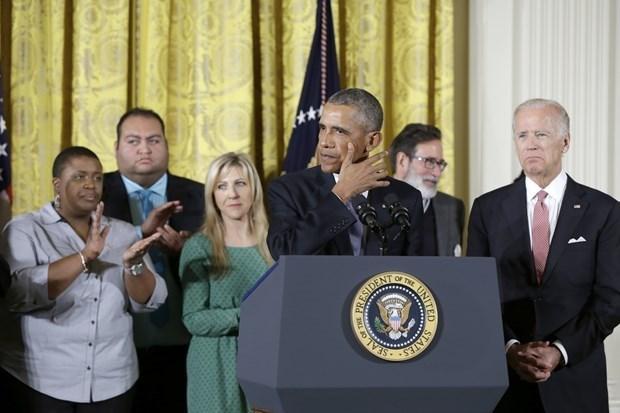Obama silah kontrolüne ilişkin tarihi kararı açıklarken, silahlı saldırılarda yaşamını yitiren çocuklarla ilgili konuşması sırasında gözyaşlarına engel olamamıştı.