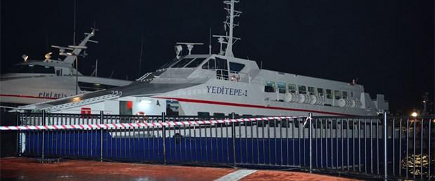 Boğaz'da deniz otobüsü kazası