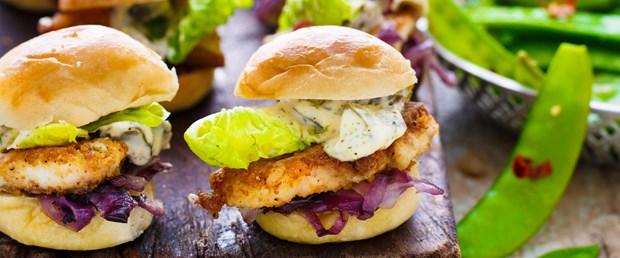 Refika'nın mutfagi-Mini Balik Burger