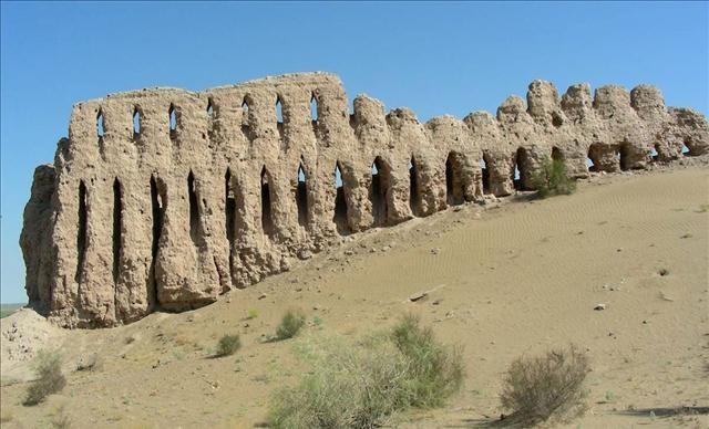 Çöl kaleleri, Özbekistan