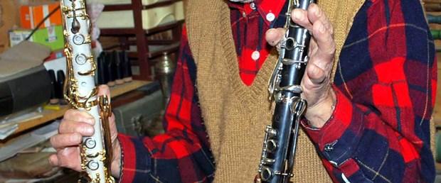 Bu klarnet mermerden!