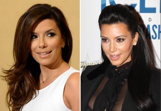 Eva Longoria & Kim Kardashian