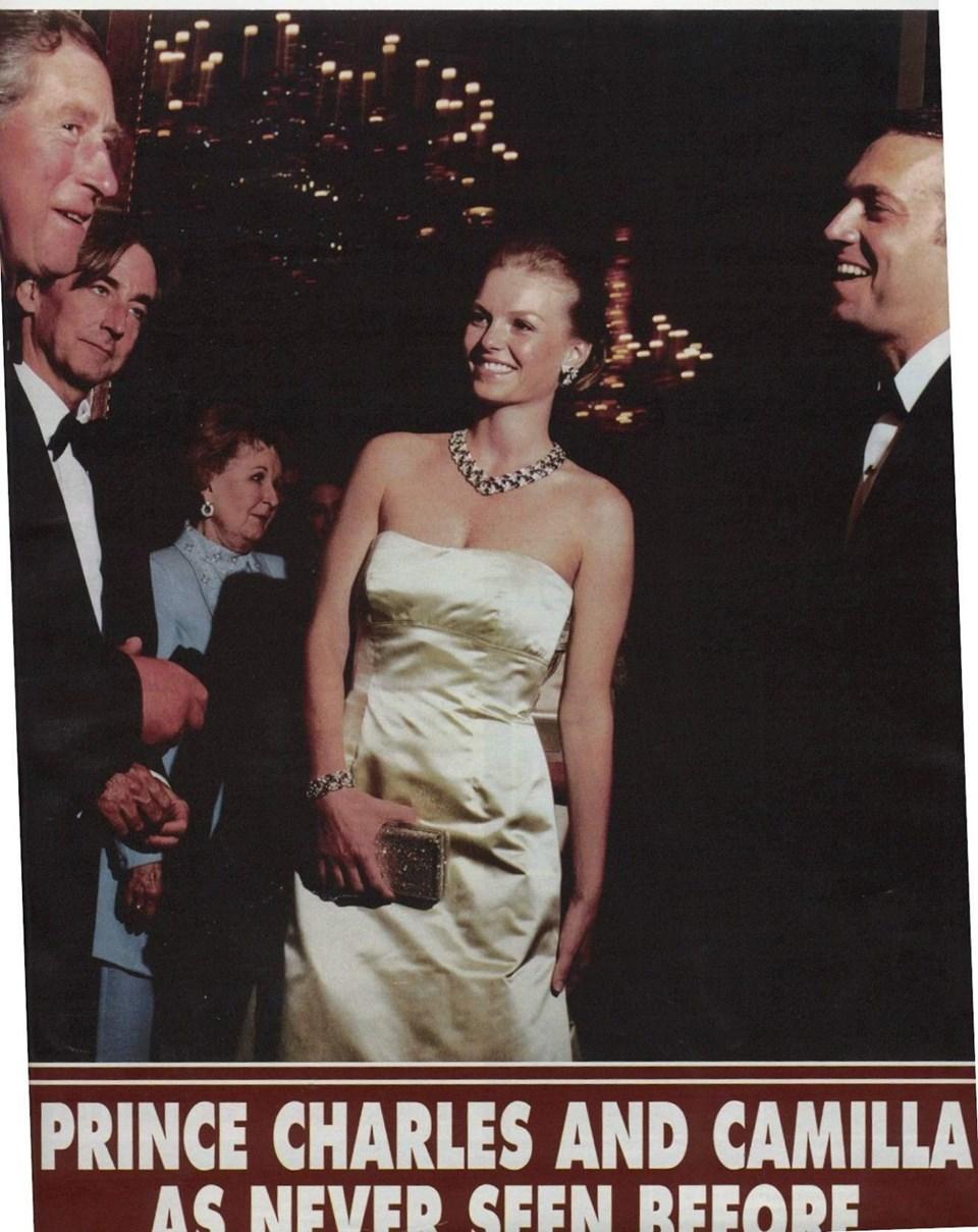 İşte o fotoğraf: Prens Charles ile Alara-Cem Uzan çifti (Londra, 2000)