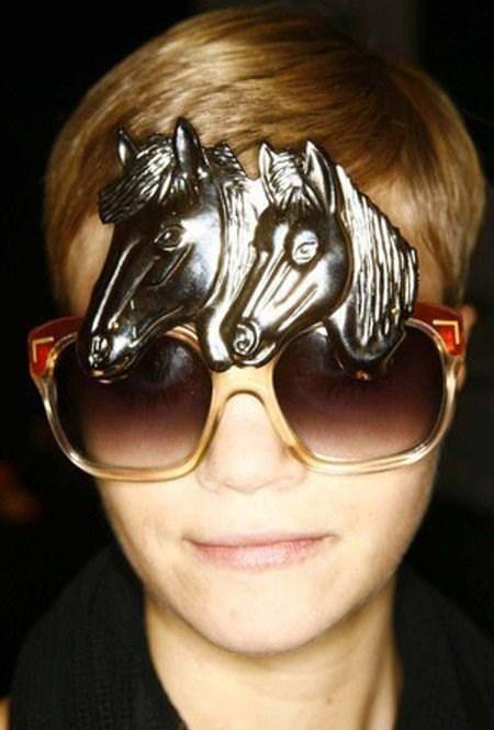 Çılgın güneş gözlükleri