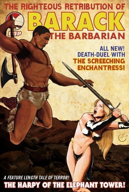 Conan'a rakip 'Barack'