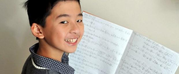 Daha 10 yaşında ama matematik dehası