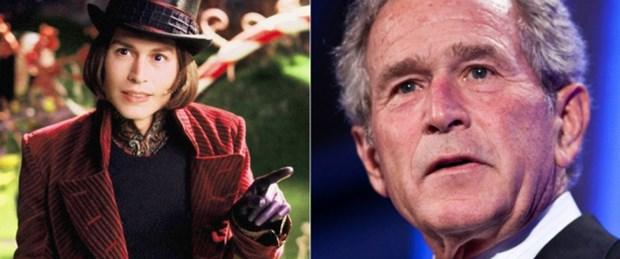 Depp'in ilham kaynağı Bush'muş