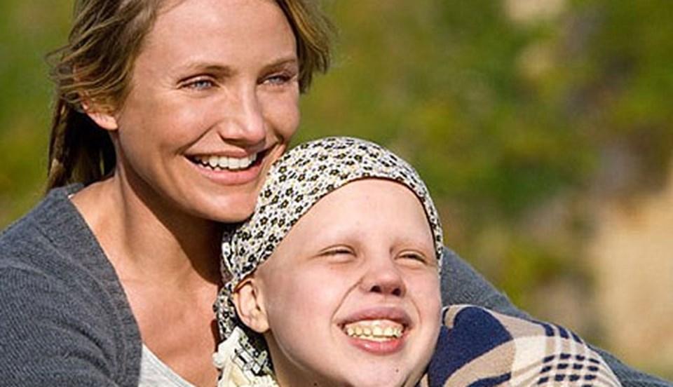 Cameron Diaz filmde kanser hastası Kate'in koruyucu annesini canlandırıyor