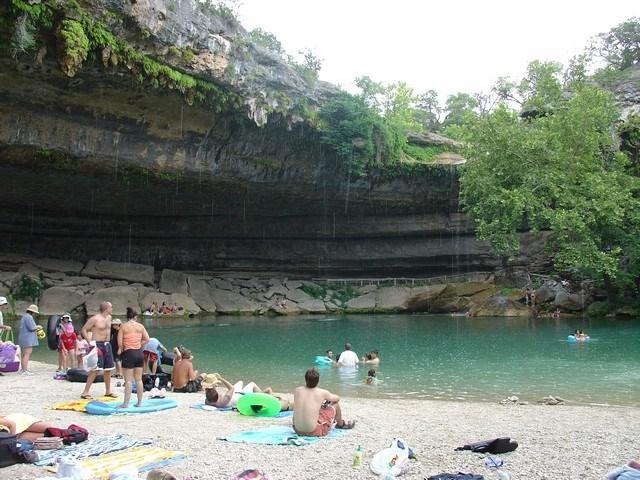 ABD Teksas - Hamilton Pool Preserve