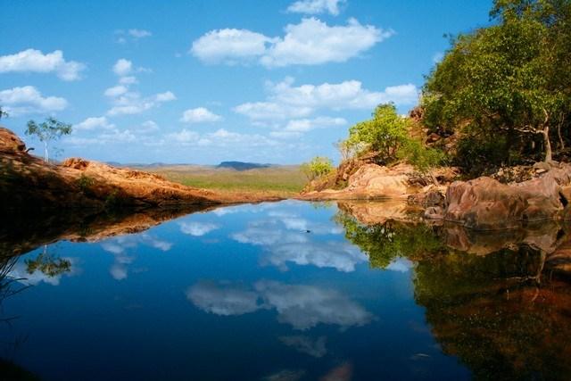 Avustralya - Gunlom Plunge Pool