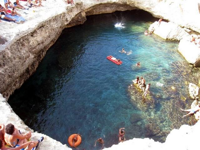 İtalya - Grotta della Poesia