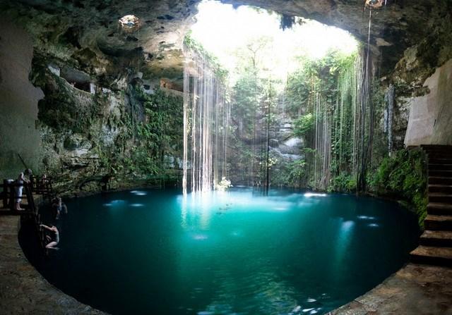 Meksika - Eco-Arqueological Park Ik Kil