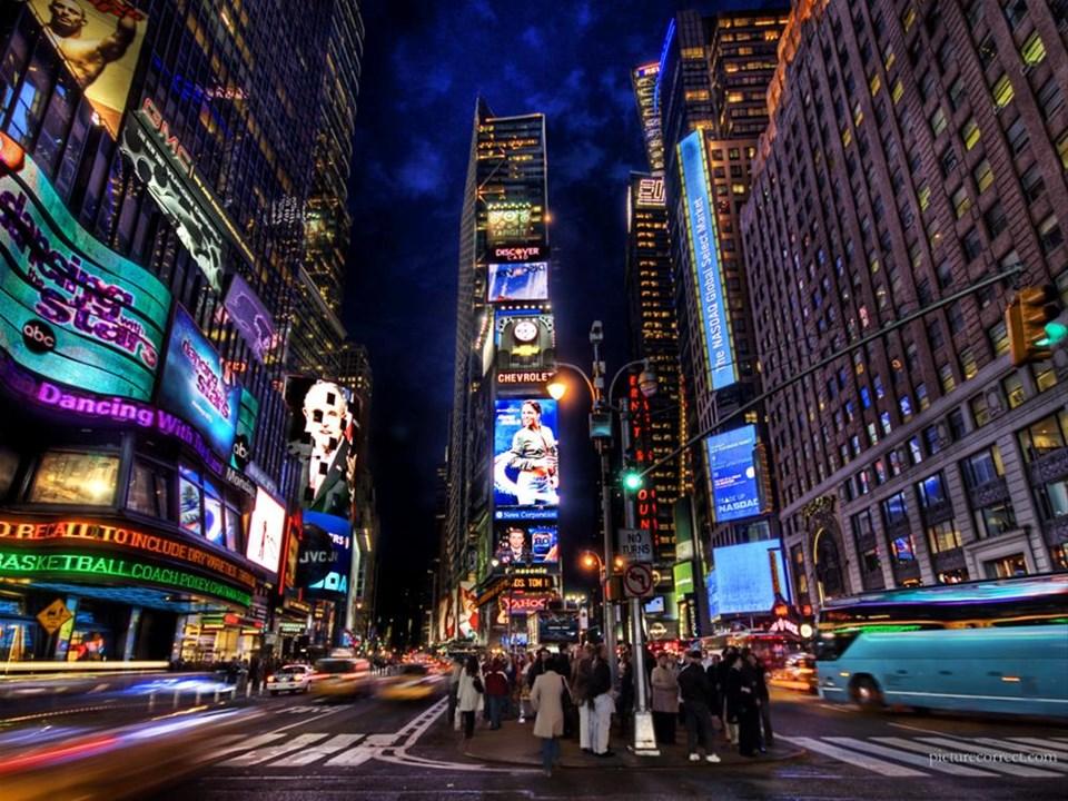 1- Times Meydanı, New York