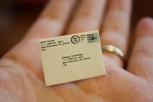 Dünyanın en küçük posta servisi