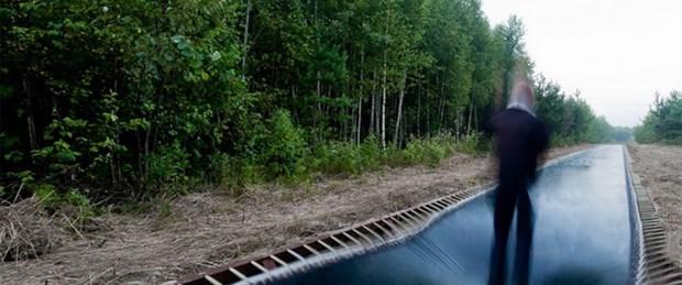 Dünyanın en uzun 'zıplayan' yolu