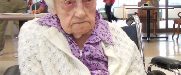 'Dünyanın en yaşlısı' olarak iki hafta yaşadı
