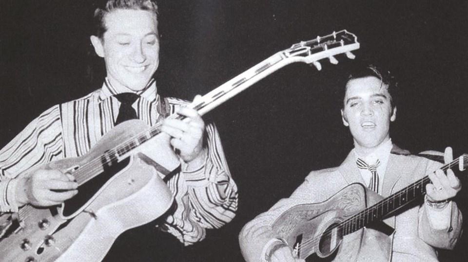Scotty Moore 1968 yılına kadar Elvis Presley ile birlikte çalıştı.
