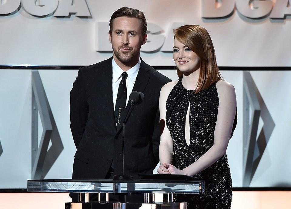 Emma Stone, 'La La Land' adlı müzikal filmde Ryan Gosling'le birlikte başrolde.