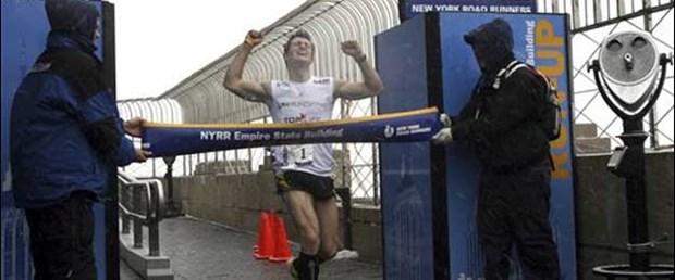 'Empire State Building'in merdivenlerinde yarış