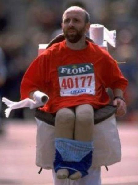 En garip koşu kıyafetleri