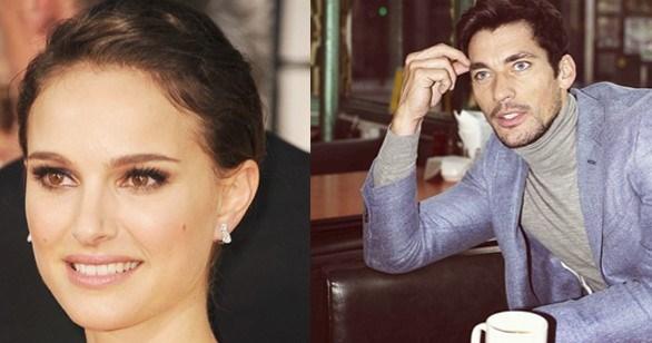 Natalie Portman ve David Gandy