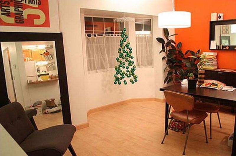 'Ev yapımı' yılbaşı ağaçları