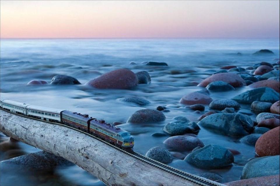 Farklı bir 'tren yolculuğu'