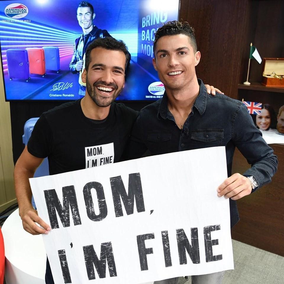 Etkinliğe katılacak isimlerdenJonathan Kubben Quiñonez'in Ronaldo ile paylaşımı da bulunuyor.