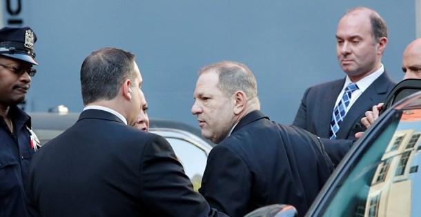 Film yapımcısı Harvey Weinstein teslim oldu