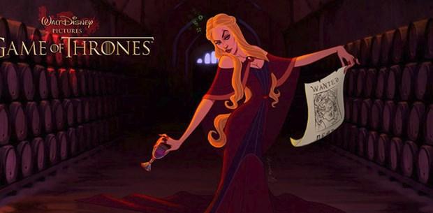 """""""Game of Thrones"""", Disney tarafından yayınlanan bir çizgi film olsaydı karakterler nasıl görünürdü?"""