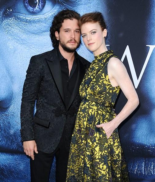 Game of Thrones, Kit Harington, Rose Leslie, Jon Snow, Yigritte, evlilik, aşk