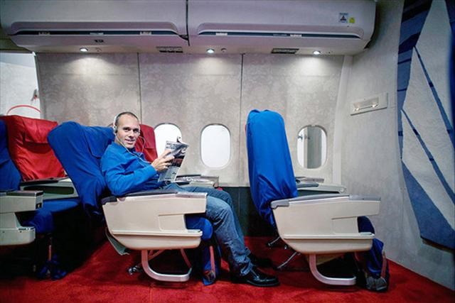 Garajda first class keyfi