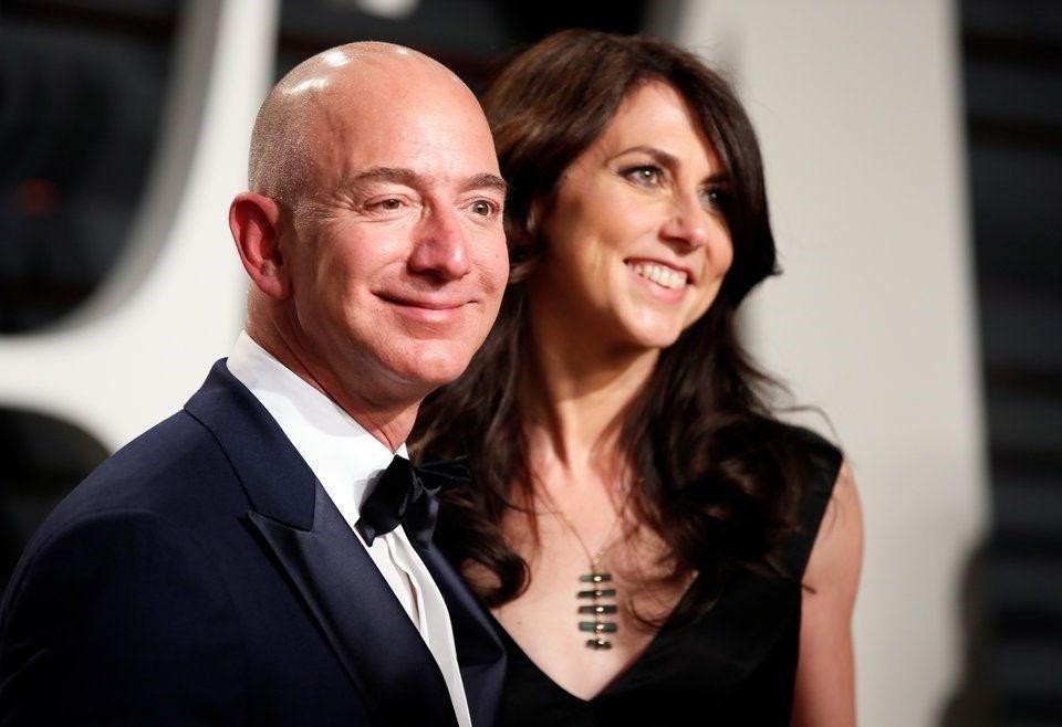 Jeff Bezos ile Mackenzie Bezos - 2019