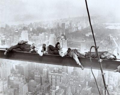 Gökyüzünün korkusuz işçileri