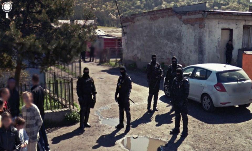 Google'ın kamerası gangsterleri yakaladı
