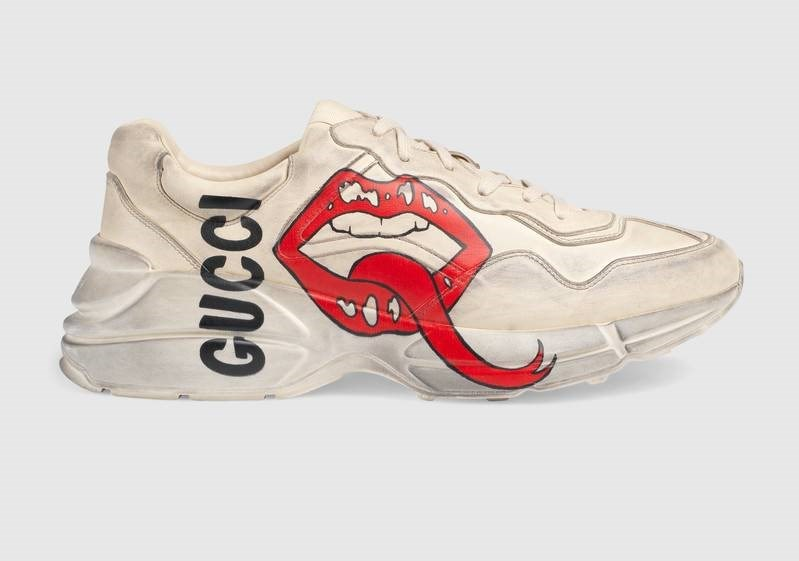Rhyton Lips, Gucci