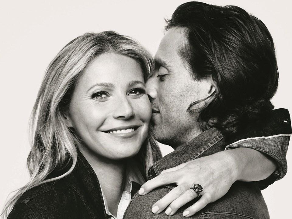 Gwyneth Paltrow ile Brad Falchuk, 2014 yılındaGlee filminin setinde tanışmıştı.