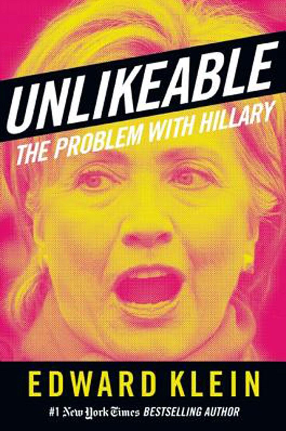 """Edward Klein'ın """"Unlikeable"""" adlı kitabı Amazon'da 18.79 dolara (yaklaşık 58 liraya) satılıyor."""