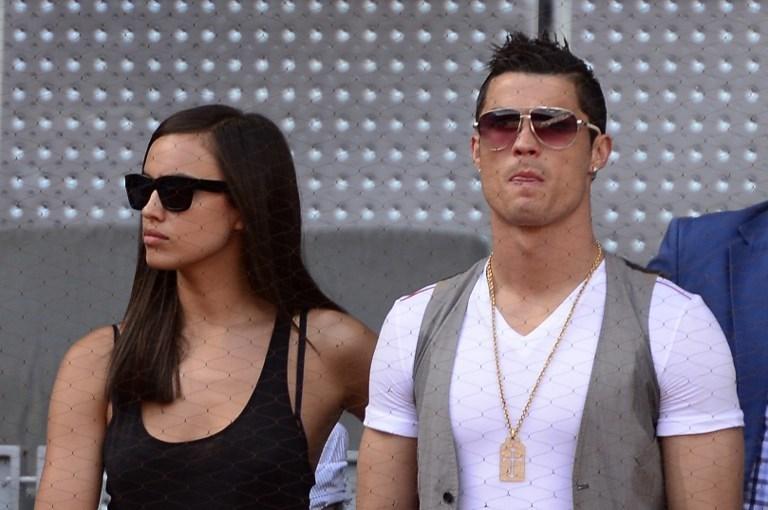 Ronaldo (sağda) veShayk'ın 2010'da başlayan ilişkileri geçtiğimiz aylarda sona ermişti.