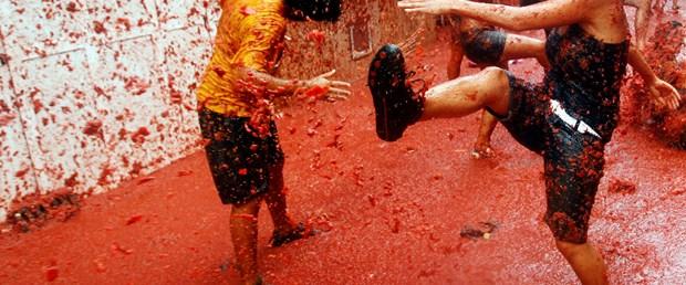 İspanya'da domates savaşı