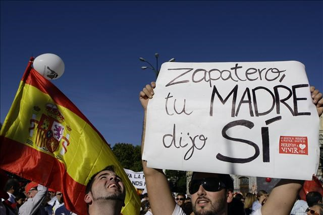 İspanya'da kürtaja 'hayır'