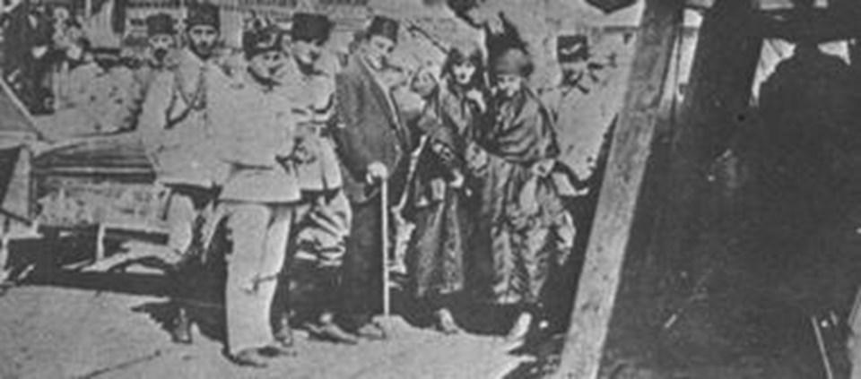 İngiliz Hava Kuvvetleri'nin 1918'deki taarruzu sonrası İstanbul.