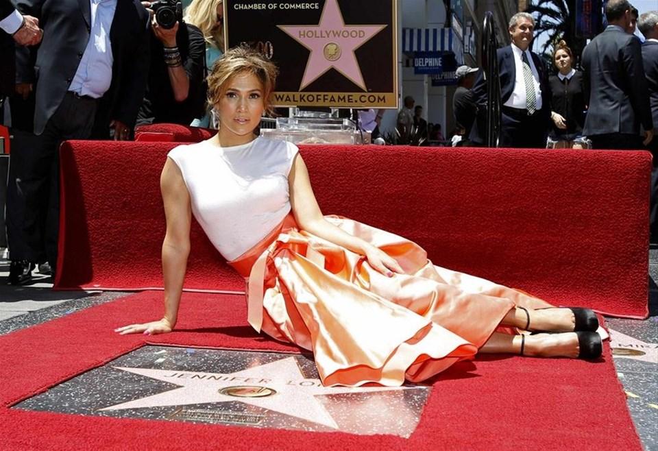 J.Lo Şöhretler Kaldırımı'nda