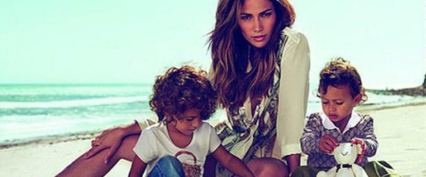 J-Lo'nun ikizleri Gucci ilanlarında