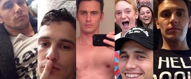 James Franco'dan 'selfie'nin incelikleri
