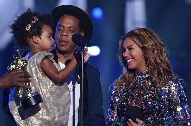 Jay-Z, Beyonce ve kızlarıBlue Ivy