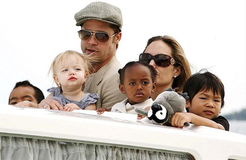 Jolie ve Pitt çocuklar için 'Evet' diyecek