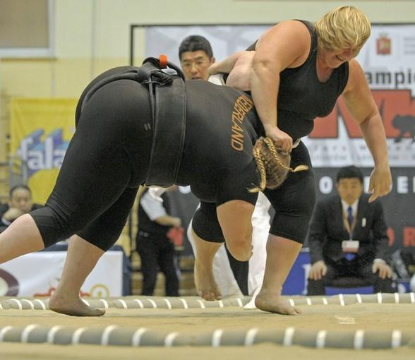 Kadın sumocular