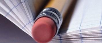 Kalem, silgi deyip geçmeyin