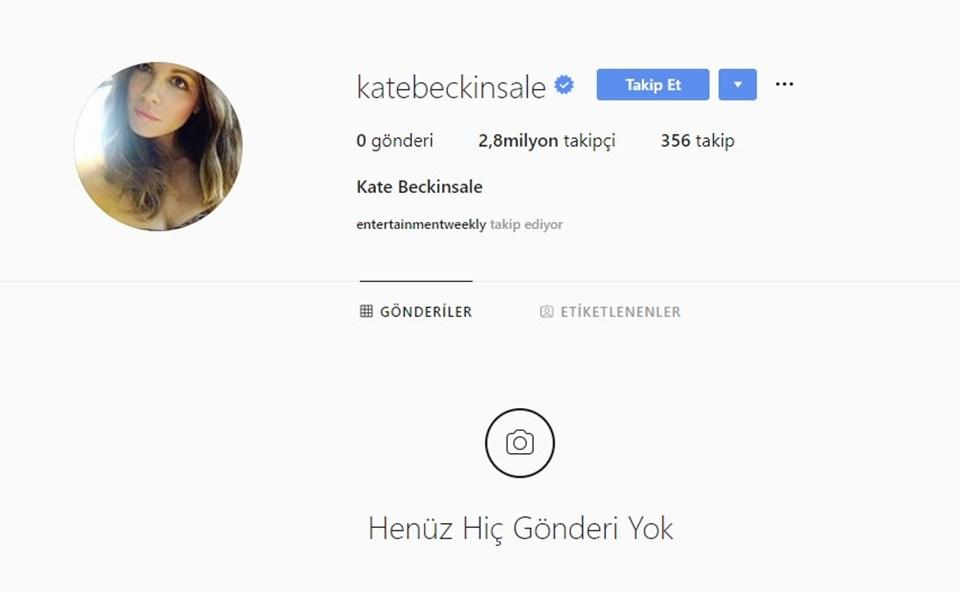 Kate Backinsale'in Instagram hesabında henüz yeni bir paylaşım bulunmuyor.